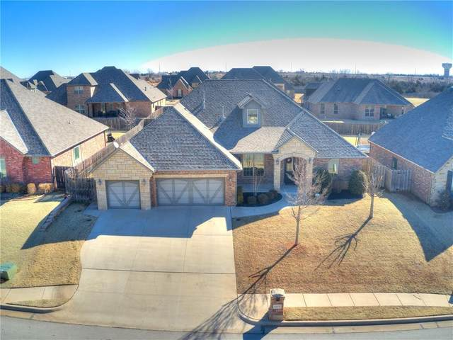 4608 Sarava Drive, Edmond, OK 73025 (MLS #947473) :: The UB Home Team at Whittington Realty