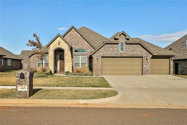 11421 NW 109th Street, Yukon, OK 73099 (MLS #947859) :: The UB Home Team at Whittington Realty