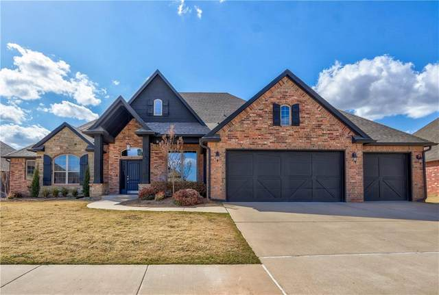 18509 Feliz Drive, Edmond, OK 73012 (MLS #948969) :: Your H.O.M.E. Team