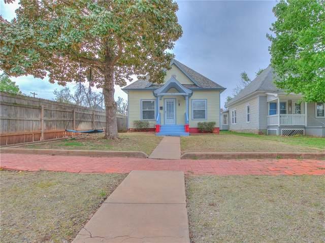 507 E Warner Avenue, Guthrie, OK 73044 (MLS #949642) :: Homestead & Co