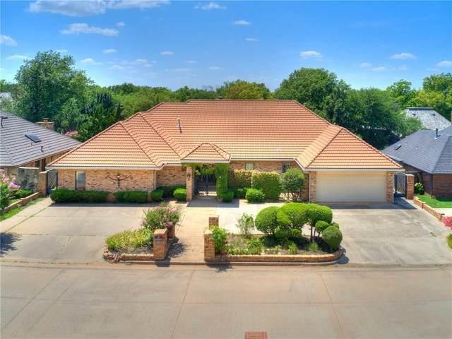 12505 Deerwood Drive, Oklahoma City, OK 73142 (MLS #949672) :: Homestead & Co