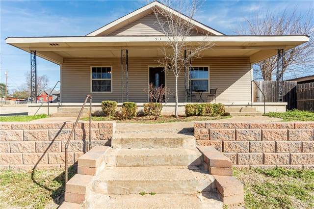 513 W Franklin Avenue, Weatherford, OK 73096 (MLS #949690) :: Homestead & Co