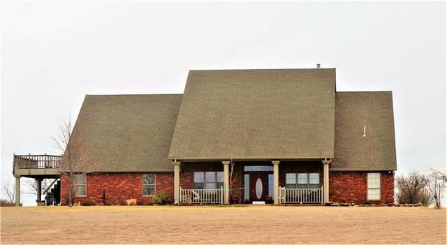 22018 E 1230 Road, Cordell, OK 73632 (MLS #949720) :: Maven Real Estate