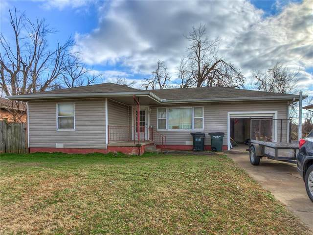 4740 SE 18th Street, Del City, OK 73115 (MLS #950170) :: Erhardt Group at Keller Williams Mulinix OKC