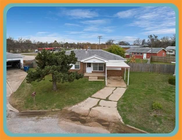 302 N Carey Street, Wynnewood, OK 73098 (MLS #950522) :: KG Realty