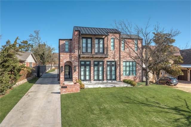 1711 Huntington Avenue, Nichols Hills, OK 73116 (MLS #951082) :: Homestead & Co