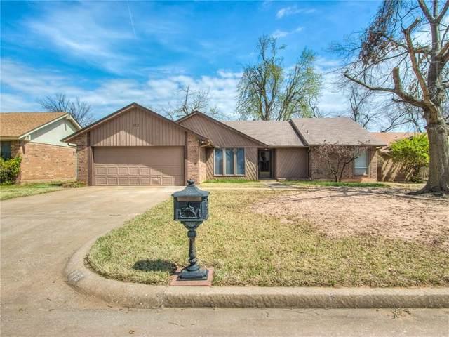 112 Three Oaks Drive, Midwest City, OK 73130 (MLS #951441) :: Homestead & Co