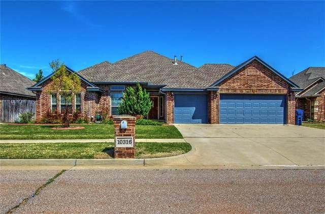 10316 Walnut Hollow Drive, Oklahoma City, OK 73162 (MLS #952160) :: Keller Williams Realty Elite
