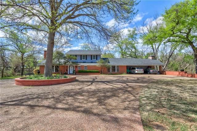 1100 Live Oak Drive, Norman, OK 73072 (MLS #952217) :: Maven Real Estate