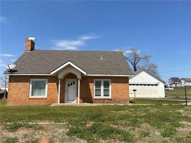 1001 Dunn Street, Hammon, OK 73650 (MLS #952315) :: Maven Real Estate