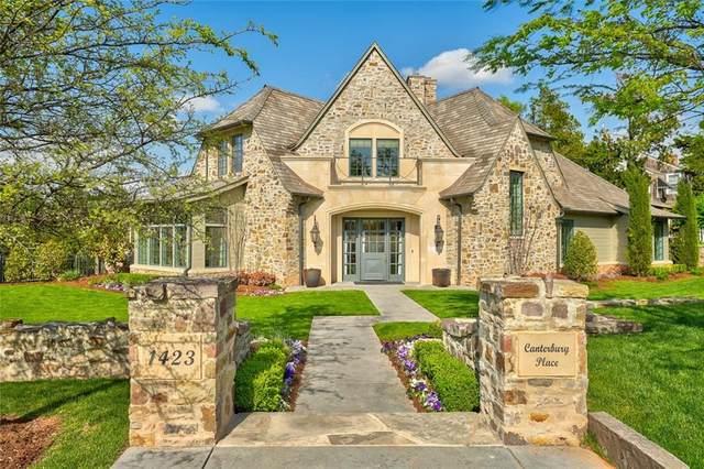 1423 Canterbury Place, Nichols Hills, OK 73116 (MLS #952422) :: Homestead & Co