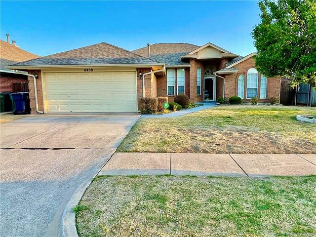8408 NW 77th Street, Oklahoma City, OK 73132 (MLS #952884) :: Homestead & Co