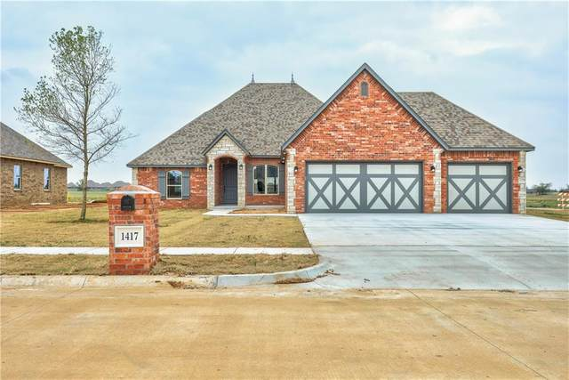 1417 Kimberlin Lane, Tuttle, OK 73089 (MLS #952910) :: Your H.O.M.E. Team