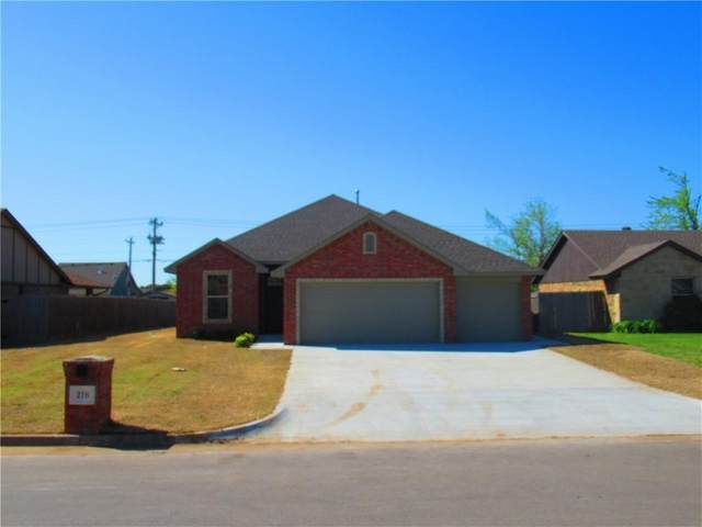 216 SW 148th Street, Oklahoma City, OK 73170 (MLS #953034) :: Your H.O.M.E. Team
