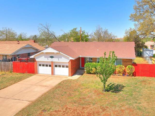 113 Cherrywood Drive, Midwest City, OK 73110 (MLS #953073) :: Your H.O.M.E. Team