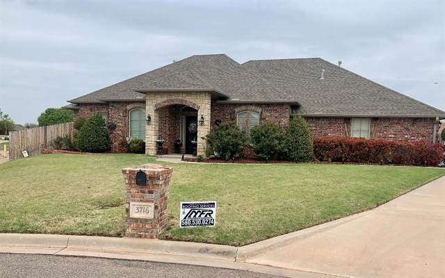 3716 Regal Drive, Altus, OK 73521 (MLS #953185) :: Keller Williams Realty Elite