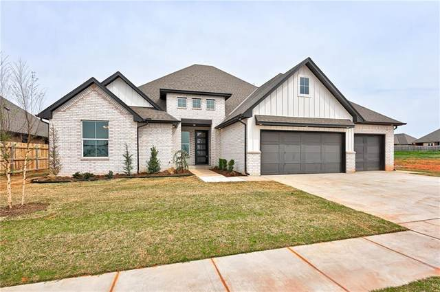 5708 Goldstone Court, Mustang, OK 73064 (MLS #953283) :: Erhardt Group at Keller Williams Mulinix OKC