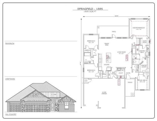 1117 Labelle Drive, Newcastle, OK 73065 (MLS #953288) :: Erhardt Group at Keller Williams Mulinix OKC