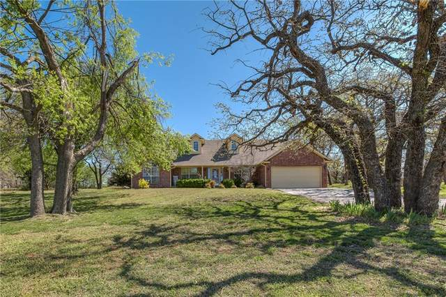 1800 Four Lakes Drive, Blanchard, OK 73010 (MLS #953395) :: Maven Real Estate