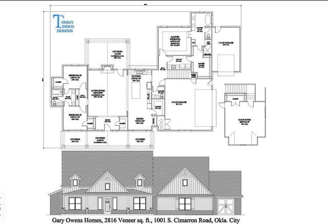 1001 S Cimarron Road, Yukon, OK 73099 (MLS #953713) :: Maven Real Estate