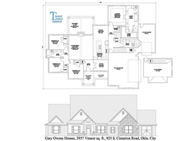925 S Cimarron Road, Yukon, OK 73099 (MLS #953717) :: Maven Real Estate