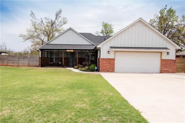 556 S Pleasant View Drive, Mustang, OK 73064 (MLS #953792) :: Erhardt Group at Keller Williams Mulinix OKC