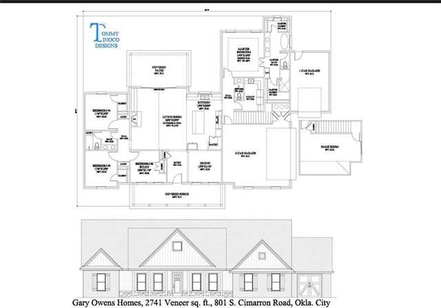 801 S Cimarron Road, Yukon, OK 73099 (MLS #953940) :: Maven Real Estate