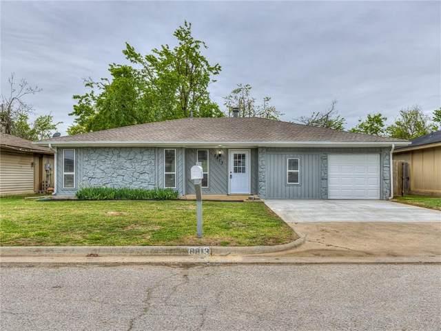 8813 Parkridge Drive, Oklahoma City, OK 73132 (MLS #953969) :: Homestead & Co