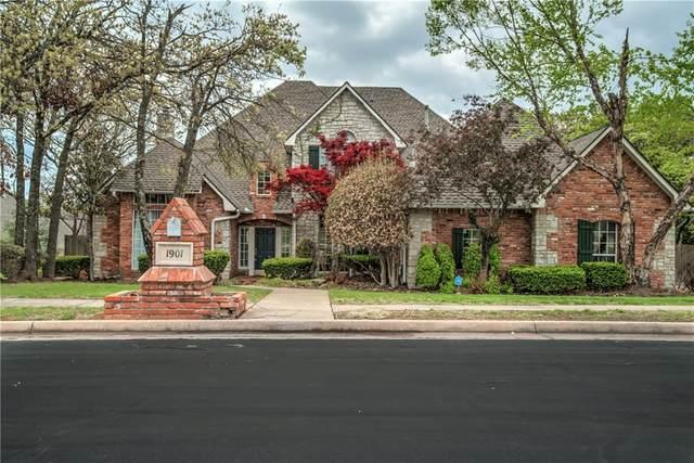 1901 Sun Valley Lane, Edmond, OK 73034 (MLS #954046) :: Homestead & Co