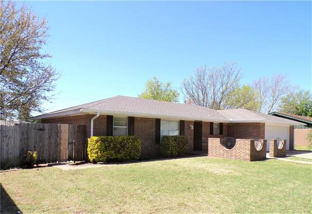 1514 Mockingbird Lane, Weatherford, OK 73096 (MLS #954128) :: Homestead & Co