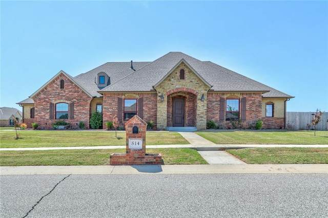 514 Cantebury Drive, Tuttle, OK 73089 (MLS #954152) :: Homestead & Co