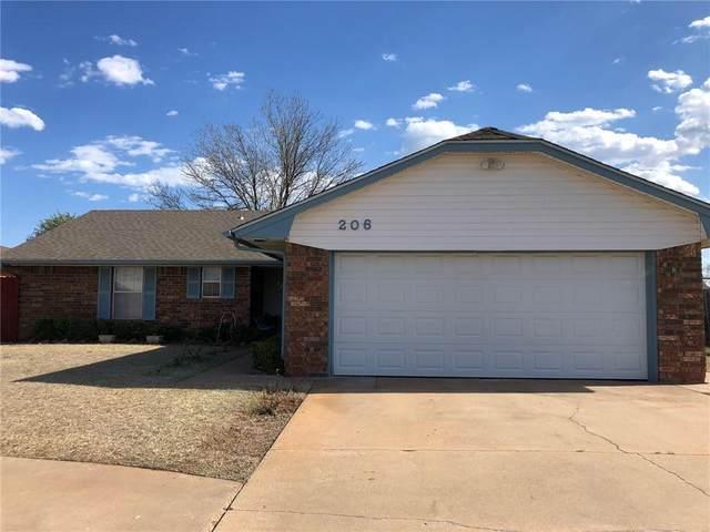 206 Rawlings, Clinton, OK 73601 (MLS #954177) :: Maven Real Estate