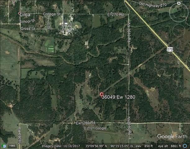 36049 E Ew 1280 Road, Wewoka, OK 74884 (MLS #954190) :: KG Realty