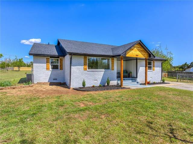 808 N Frisco Road, Mustang, OK 73064 (MLS #954229) :: Homestead & Co