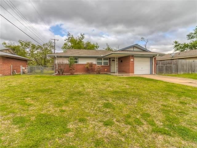 105 S Norman Avenue, Moore, OK 73160 (MLS #954232) :: Keller Williams Realty Elite
