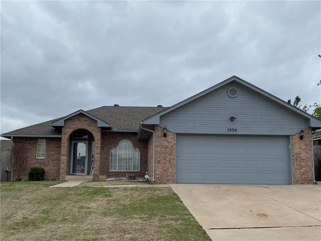 1804 N Shawnee Trail, Choctaw, OK 73020 (MLS #954352) :: Homestead & Co