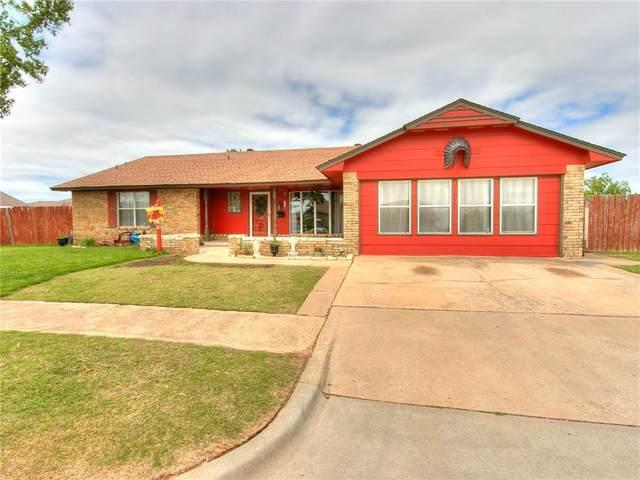 505 N Avery Drive, Moore, OK 73160 (MLS #954436) :: Homestead & Co