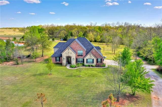 19550 Abigail Drive, Shawnee, OK 74801 (MLS #954536) :: Maven Real Estate