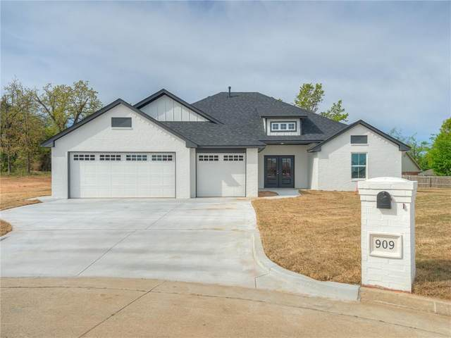 909 Stonie Brook Court, Harrah, OK 73045 (MLS #954731) :: Homestead & Co
