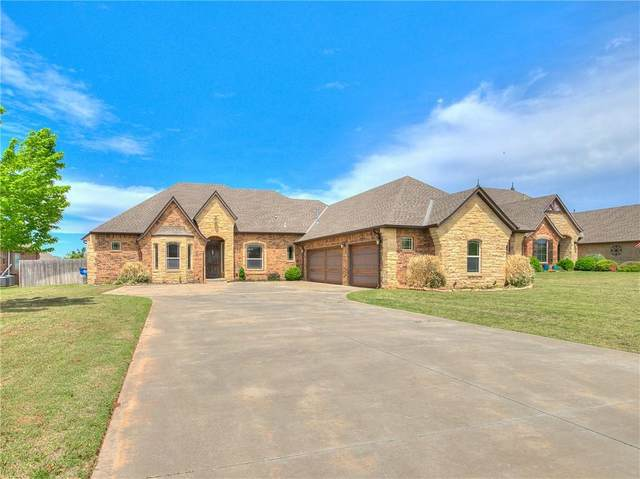 525 E Amelia Terrace, Mustang, OK 73064 (MLS #954767) :: Erhardt Group at Keller Williams Mulinix OKC
