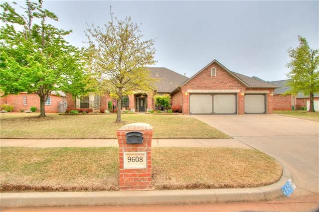 9608 SW 35th Terrace, Oklahoma City, OK 73179 (MLS #954846) :: Homestead & Co