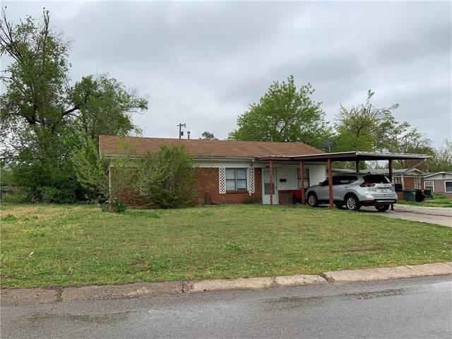 1604 Elm Drive, Del City, OK 73115 (MLS #955207) :: Maven Real Estate