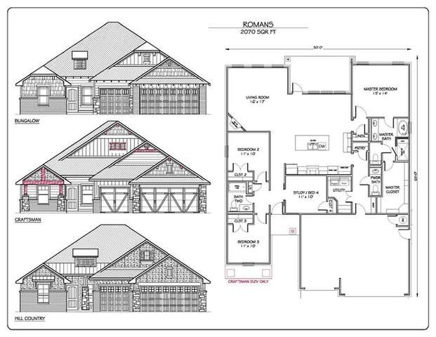 2705 SE Cedar Creek Drive, Moore, OK 73160 (MLS #955509) :: Homestead & Co