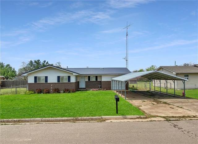 523 N East Street, Fort Cobb, OK 73038 (MLS #955580) :: Maven Real Estate