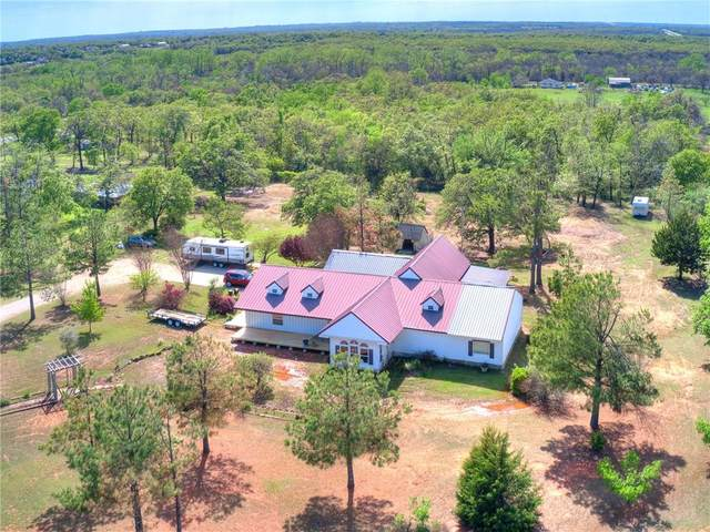 45 Country Creek Drive, McLoud, OK 74851 (MLS #955745) :: Homestead & Co