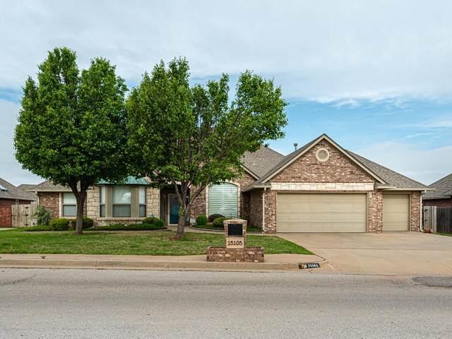 15105 Sugar Loaf Drive, Edmond, OK 73013 (MLS #955877) :: Maven Real Estate
