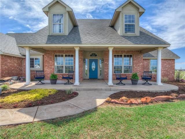 6931 NE Ranch Drive, Piedmont, OK 73078 (MLS #955939) :: KG Realty
