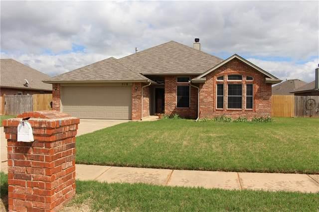 516 N Cherokee Way, Mustang, OK 73064 (MLS #955957) :: Maven Real Estate