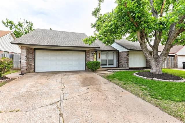 824 Lakecrest Drive, Moore, OK 73170 (MLS #956029) :: KG Realty