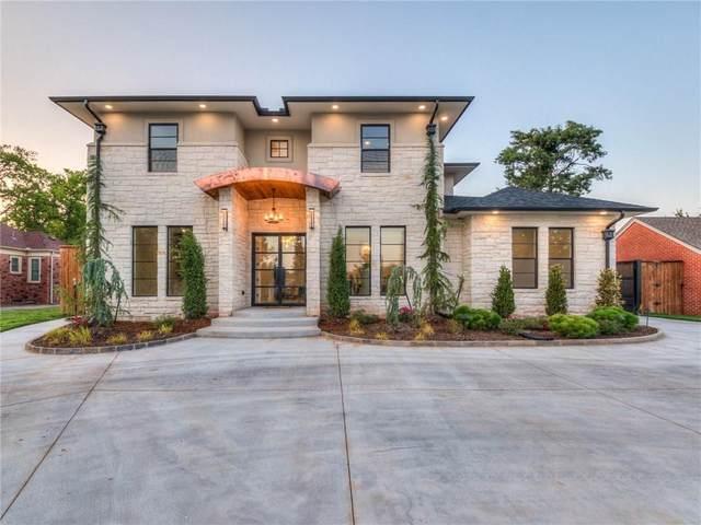 1107 Larchmont Lane, Nichols Hills, OK 73116 (MLS #956116) :: Homestead & Co